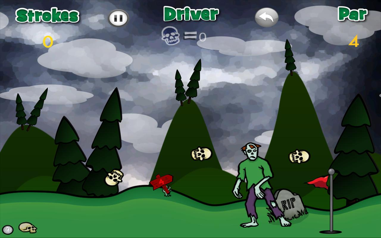 Ghoulish Golf - screenshot
