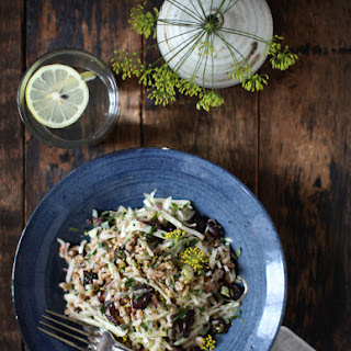 Triple Fennel and Spelt Salad