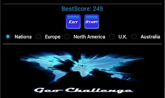 Screenshot of Geo Challenge