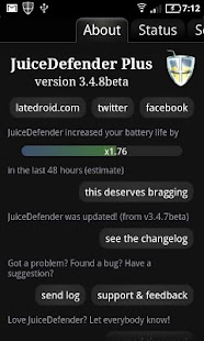 JuiceDefender Plus- screenshot thumbnail