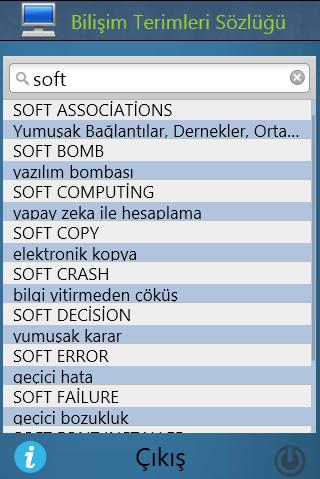 Bilişim ve Elektronik Sözlüğü