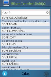 Bilişim ve Elektronik Sözlüğü - náhled