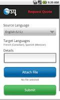 Screenshot of Translation Services USA