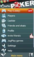 Screenshot of JagPlay Texas Poker