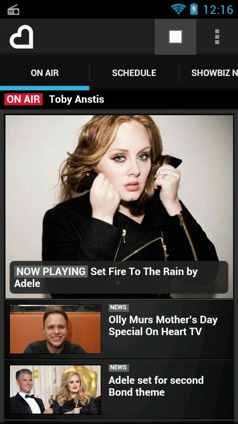 Heart Radio App - screenshot