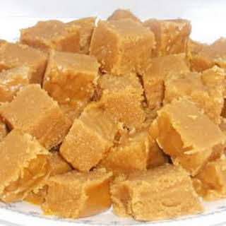 Grandpa's Peanut Butter Fudge.