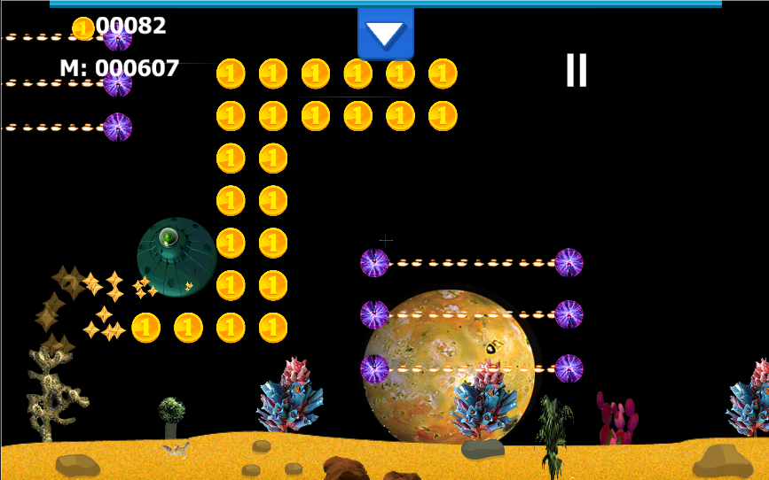 Alien Treasure Hunt- screenshot