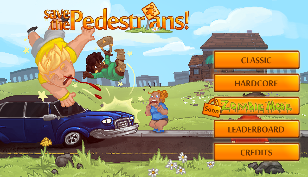 Save the Pedestrians- screenshot