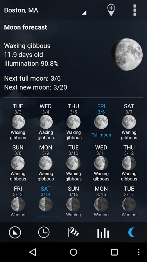 Digital clock & world weather- screenshot