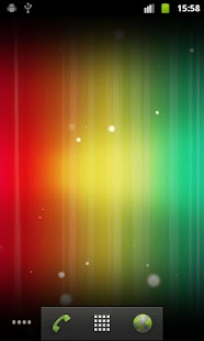 Spectrum ICS Live Wallpaper - screenshot thumbnail