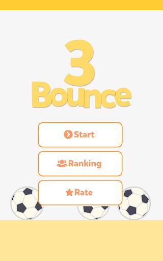 【免費休閒App】Three Bounce-APP點子