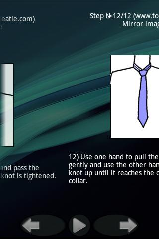 To tie a tie and a bow. Lite - screenshot