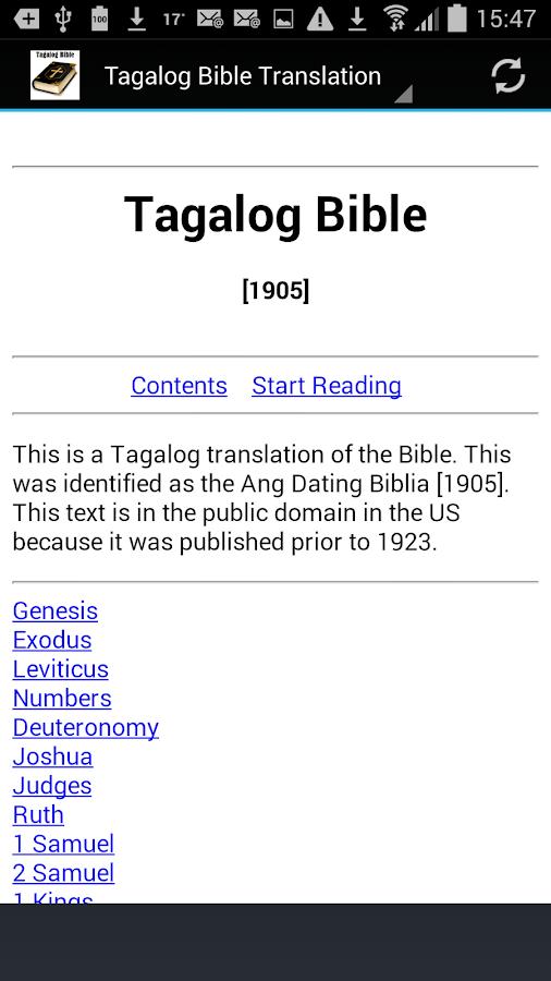 Ang dating biblia apps free 5