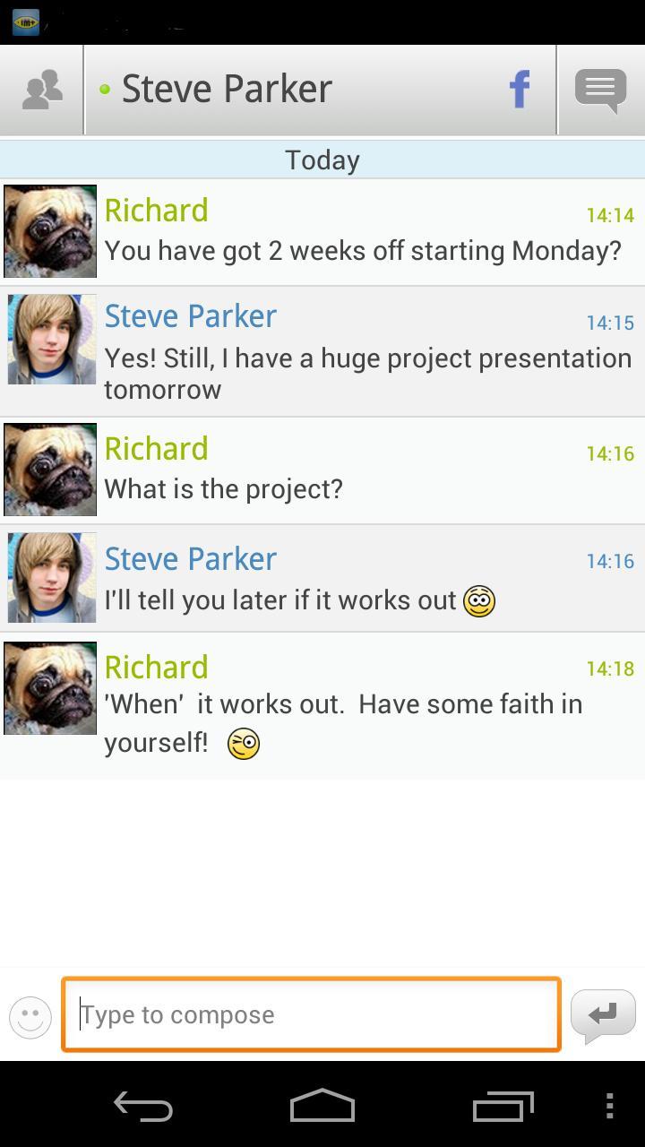 IM+ screenshot #3