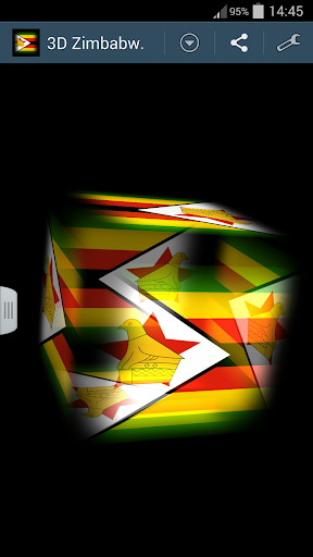 3D Zimbabwe Cube Flag LWP