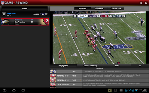 NFL Game Rewind - screenshot thumbnail