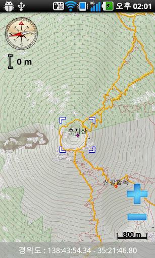 【免費生活App】e산경표 - 세계 등산지도-APP點子