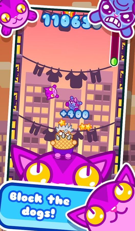 Cat Basket - screenshot