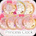 キラ姫☆デコ目覚まし時計ウィジェットパック icon