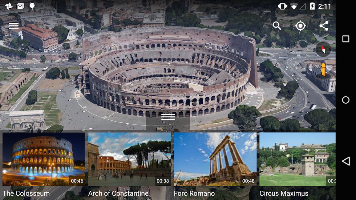 #7. Google Earth (Android)