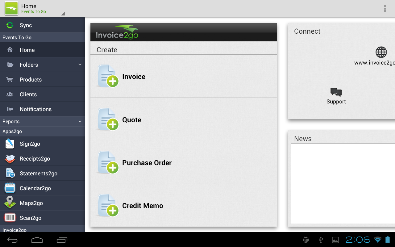 Invoice2go Plus - Invoice App - screenshot