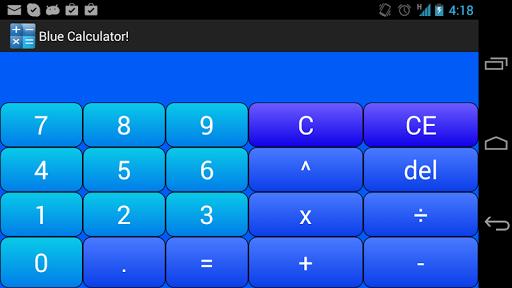 玩生產應用App|Blue Calculator!免費|APP試玩