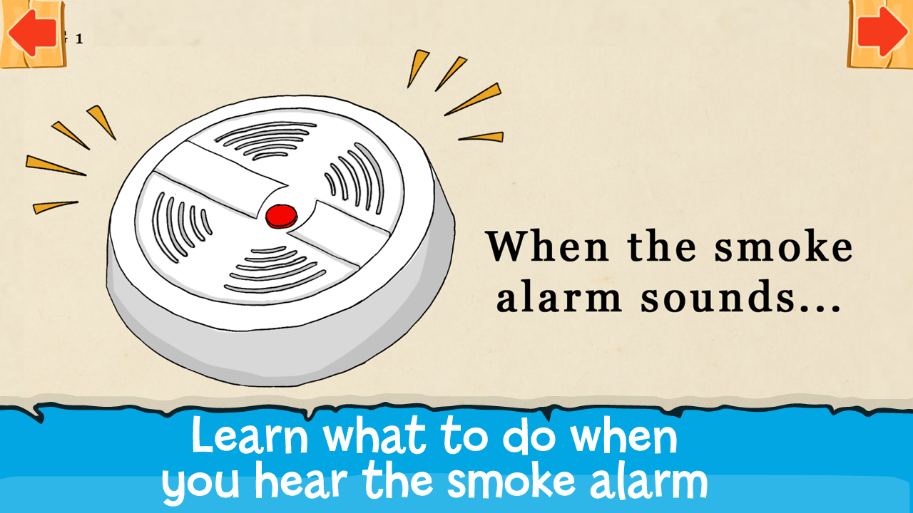 Sparky Mystery - Smoke Alarms- screenshot