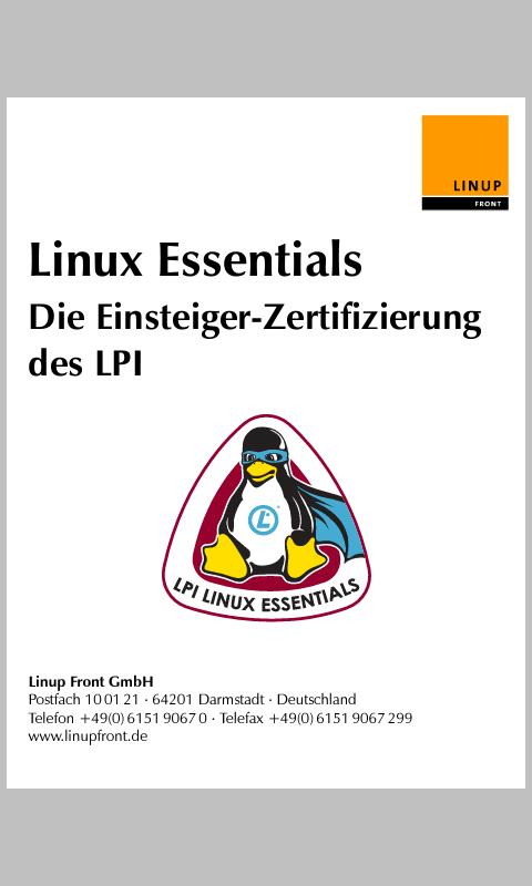 Linux Essentials (Deutsch)- screenshot
