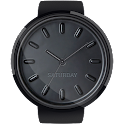 Black HD Watch Face