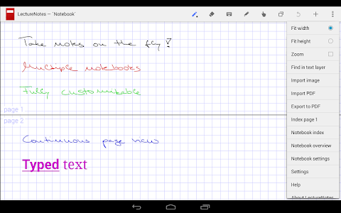 LectureNotes screenshot 8