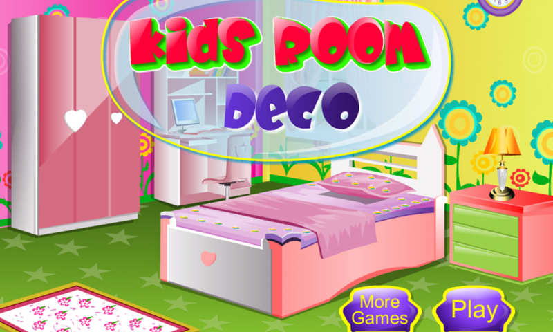 Kids Room Decoration Girl Game Screenshot