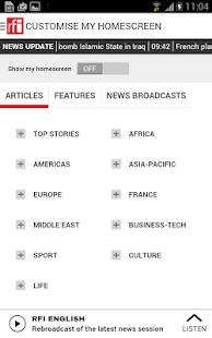 RFI - screenshot thumbnail
