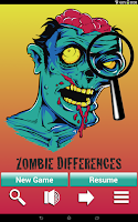 Screenshot of Zombie Differences