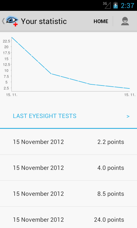 Eye Doctor Trainer - vision up - screenshot