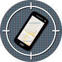 Cell phone tracker mobile app icon