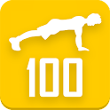 100 Pushups allenamento icon