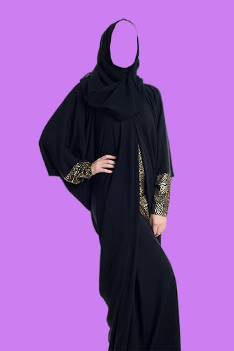 Arab Woman Abayas Photo Suit