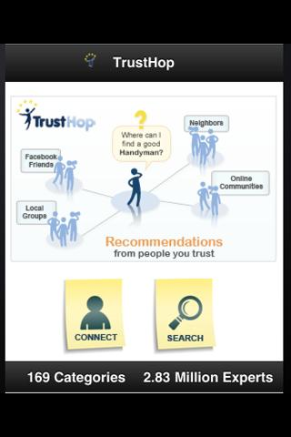 TrustHop - screenshot