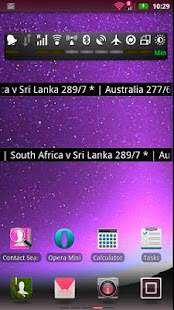Live Cricket Score Widget- screenshot thumbnail