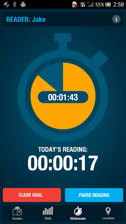 READometer - screenshot