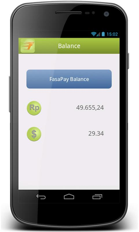 FasaPay Mobile- screenshot