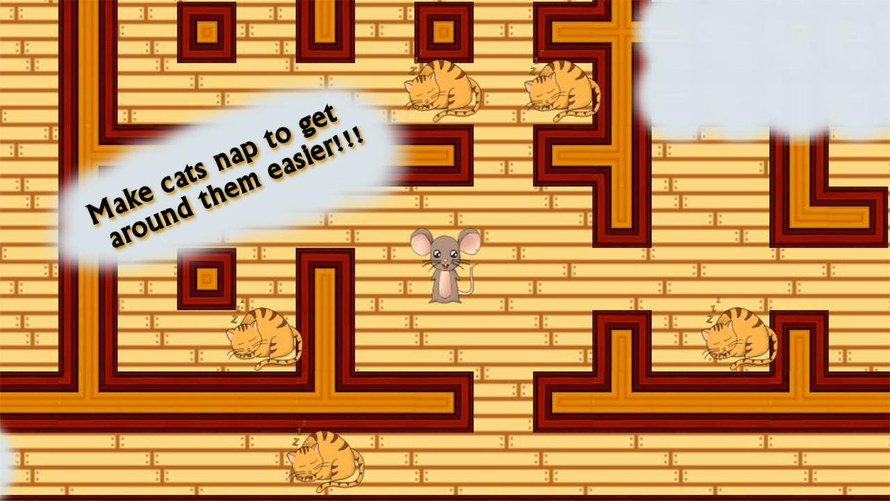 Cats and Mouse Maze- screenshot