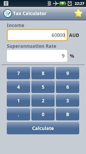 Easy Australian Tax Calculator - screenshot thumbnail