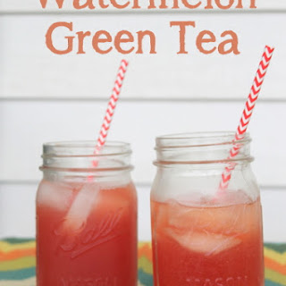 Watermelon Green Tea