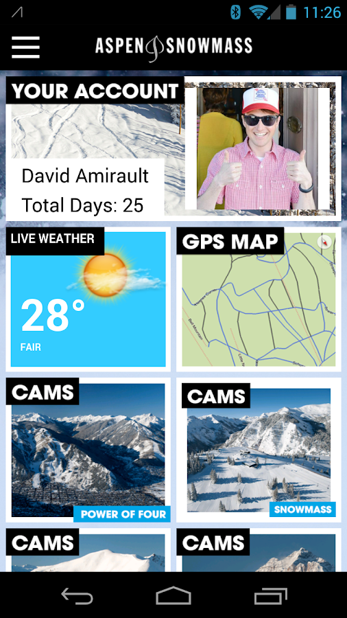 Aspen Snowmass LivePass - screenshot
