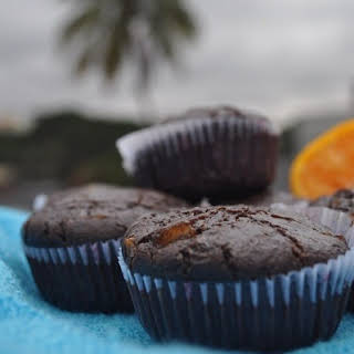 Candied Orange and Chocolate muffins.