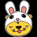 俏獅兔兔裝 logo