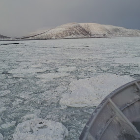 False Pass, Alaska  in February by Luis Domar - Transportation Boats ( @ice, @americanbeauty, @falsepass, @freezing, @ goldenalaskaseafoods )