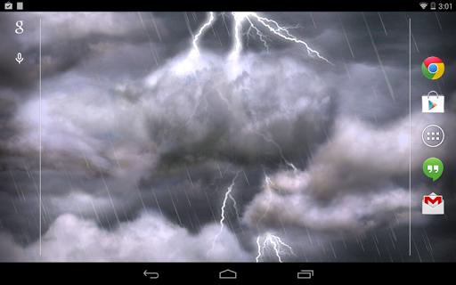 Thunderstorm Free Wallpaper