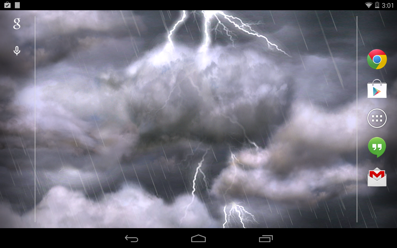 Thunderstorm Free Wallpaper- screenshot